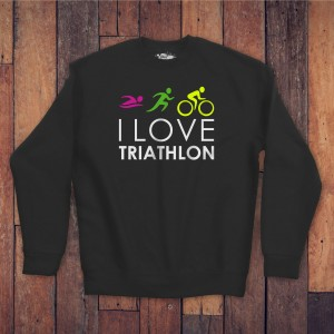 Bluza czarna - Love Triathlon